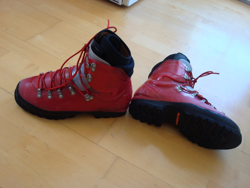 Rock Climbing Photo: scarpa omega1