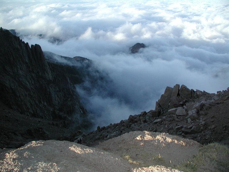 Pikes Peak around 13,500