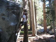Rock Climbing Photo: Flip flop bouldering