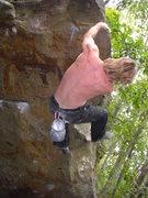 Rock Climbing Photo: Vince.