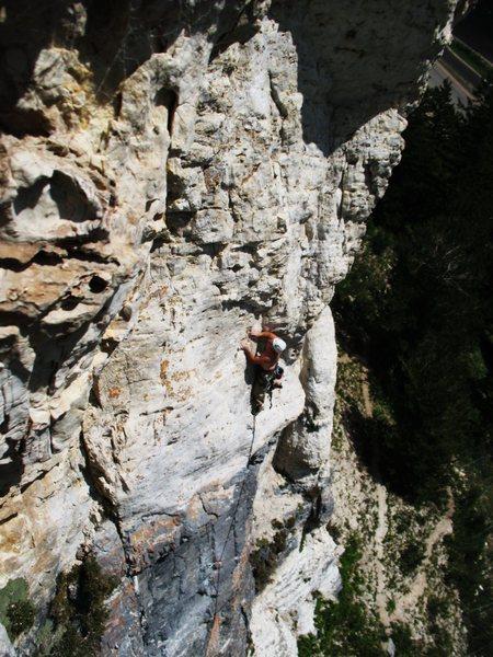 Rock Climbing Photo: BOBBY GRAY MINDMELTING