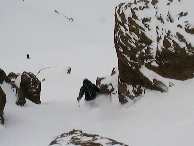 Rock Climbing Photo: El Colorado Backcountry, Chile