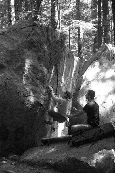 Rock Climbing Photo: nicole and jakob...