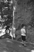 Rock Climbing Photo: on a weekend dont be surprised if there are a bunc...