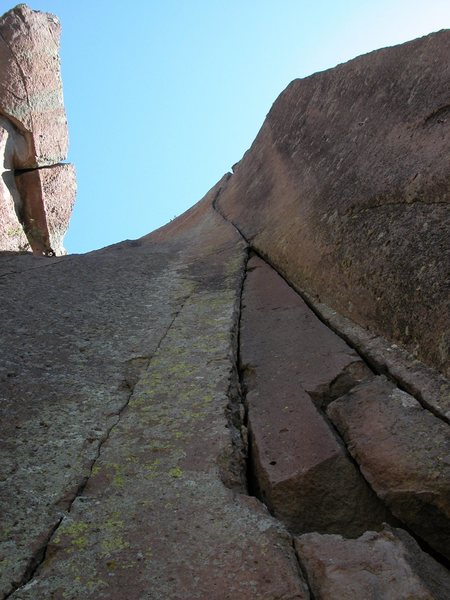 Rock Climbing Photo: Looking straight up at the dreamscape.
