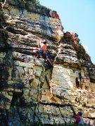 Rock Climbing Photo: Mike Bird on Bad Brains