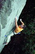 Rock Climbing Photo: Devils Lake. Isaac Therneau on Wooger's Woof.