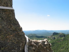 Rock Climbing Photo: looking south from spires