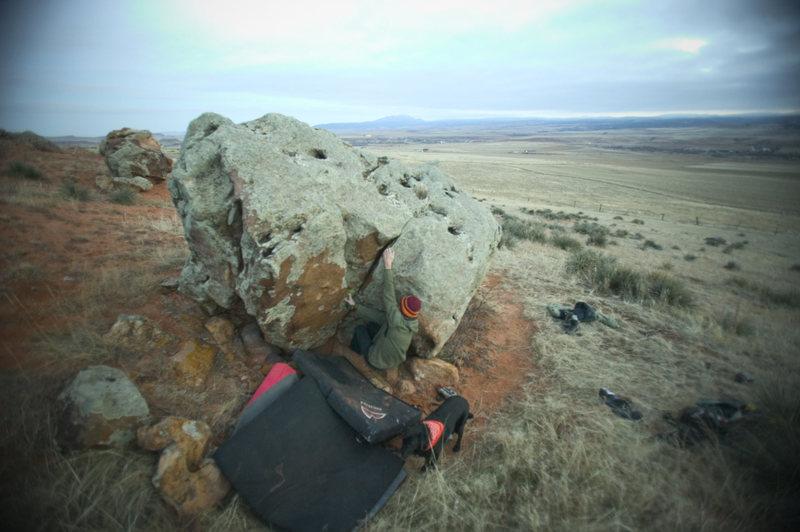 Rock Climbing Photo: private Property Carl Gostola Photo