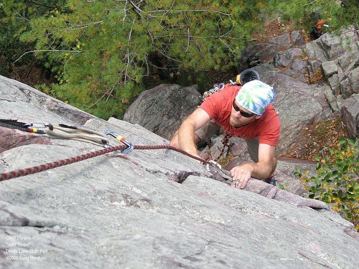 Rock Climbing Photo: Chris Durand