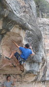 Rock Climbing Photo: Rob Kelty gettin tuff on Boltering