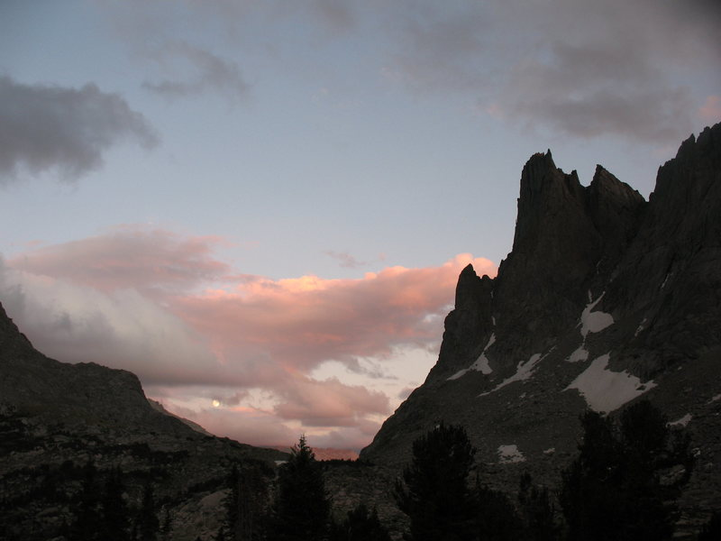another shot of Warbonnet in the late evening