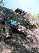 Rock Climbing Photo: Kelly Following