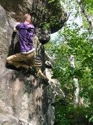 Rock Climbing Photo: Below the bulge