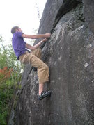 Rock Climbing Photo: The undercling