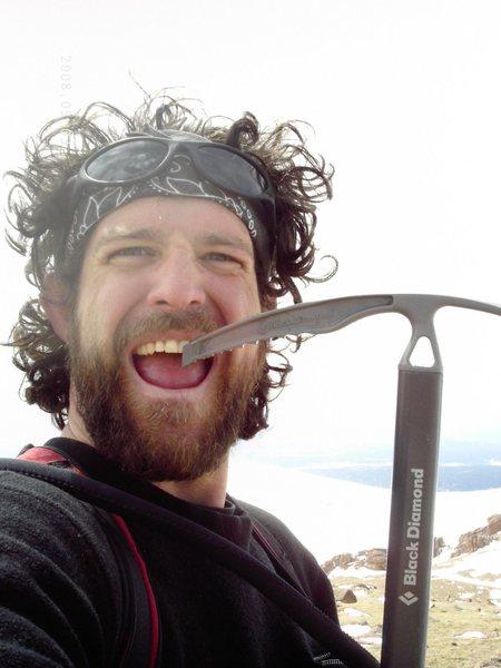 Rock Climbing Photo: Alpine toothpick.