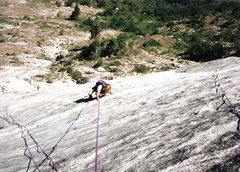 Rock Climbing Photo: Roxanne 9 following early pitches