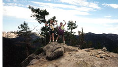 Rock Climbing Photo: Roxanne & Monica first climb over three pitches. I...