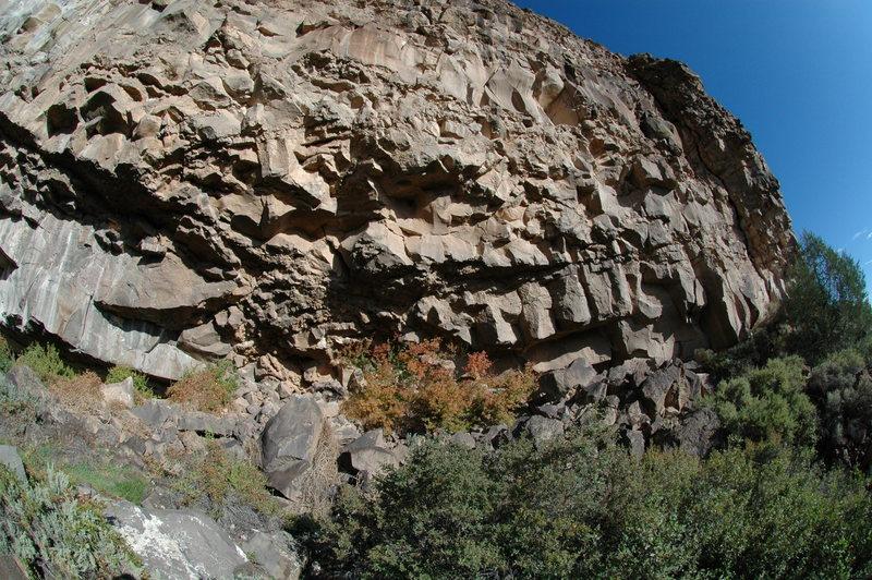Rock Climbing Photo: Bat Cave