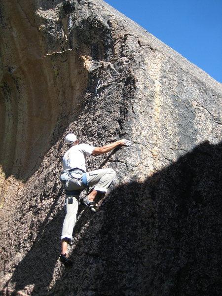 Keep the Valley....I'll keep the secrets of Shuteye Ridge to myself!<br> <br> The first ascent of 'Under The Boardwalk' (5.10a/b), Shuteye Ridge