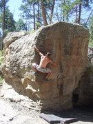 Rock Climbing Photo: Mike H. on Nard Gargler.