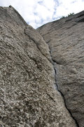 Rock Climbing Photo: Kangaroo Corner - excellent thin corner climbing -...