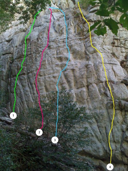 Rock Climbing Photo: 1) Grommet 2) Total Ramon 3) Scratchin' for the Lo...