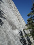 "Rock Climbing Photo: The ""positive looking"" upper section of ..."