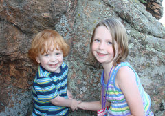 Rock Climbing Photo: Beside the 'Big Rock' across from our property, 7/...