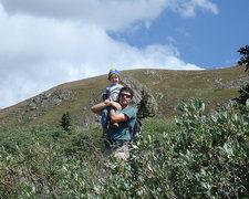 Rock Climbing Photo: Bierstadt 9/08
