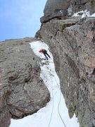 Rock Climbing Photo: Descending Vanquished.