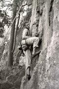 Rock Climbing Photo: David Silverman