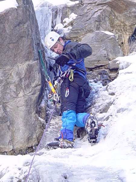 mixed ice route<br>