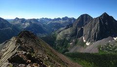 Rock Climbing Photo: strom king peak and mt silex
