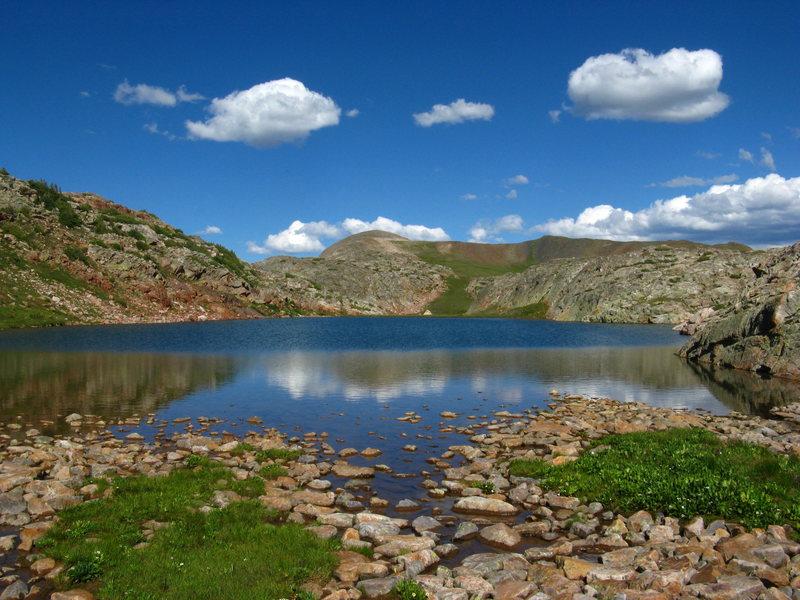 Rock Climbing Photo: a lake