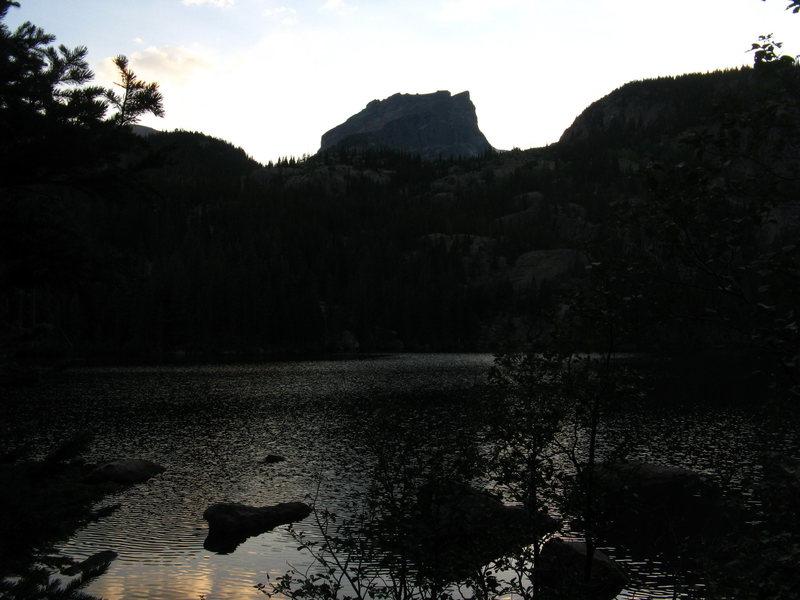 hallets peak