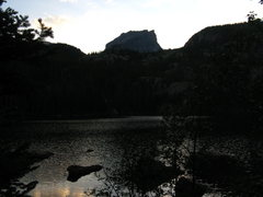 Rock Climbing Photo: hallets peak