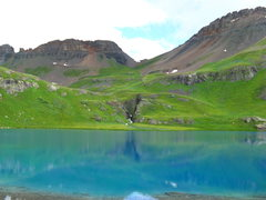 Rock Climbing Photo: ice lake