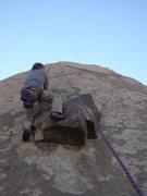 Rock Climbing Photo: John on Zardof
