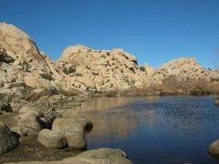 Rock Climbing Photo: Barker Dam Area