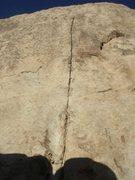 Rock Climbing Photo: Mental Physics Crack