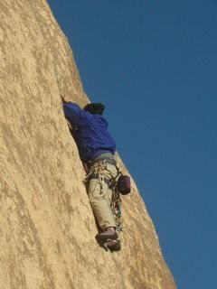 Rock Climbing Photo: Close up