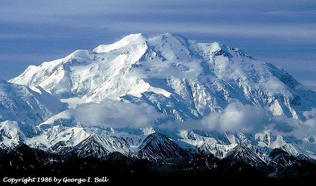 Denali from near Wonder Lake.