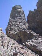 Rock Climbing Photo: The Black Gendarme.