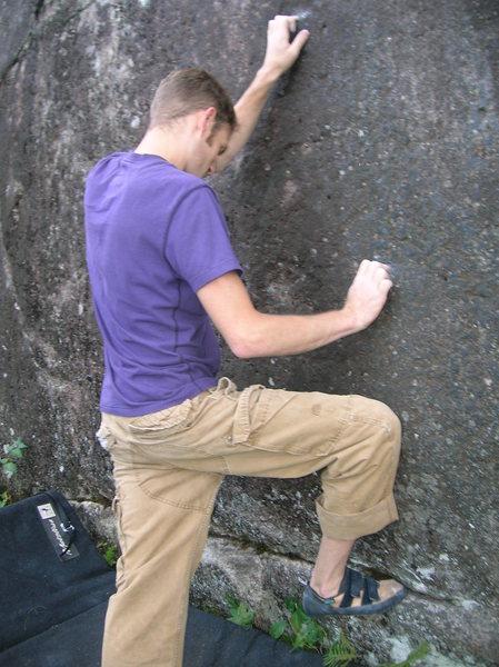 Rock Climbing Photo: beta I used to start