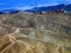 Rock Climbing Photo: Zabriskie Point, Death Valley (2005)