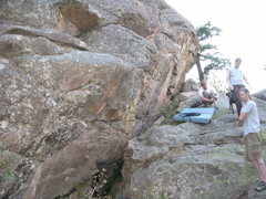 Rock Climbing Photo: I believe this is THC.