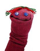 Rock Climbing Photo: Bad Sock Puppet