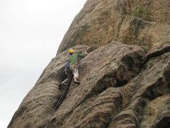Rock Climbing Photo: FA Photo by Grateful Al