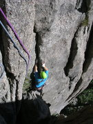 Rock Climbing Photo: Phil Kerwin coming off the couch from WI.